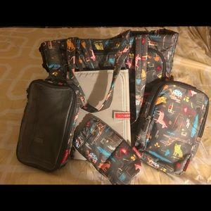 Skip Hop Jungle Theme Diaper Bag!